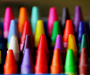 colors, crayons, and colorful image