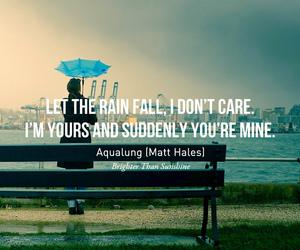 Lyrics, quote, and care image