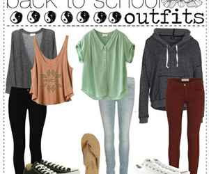 fashion, outfit, and school image
