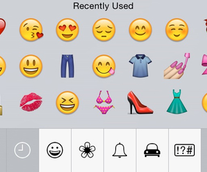 emojis and recently used image
