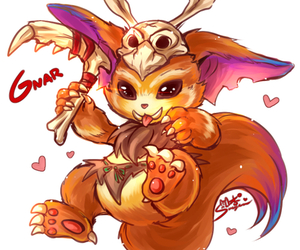 gnar, league of legends, and lol image