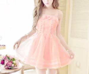 dress, kawaii, and kfashion image