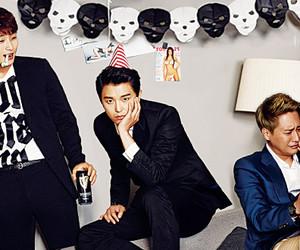 Korean Drama, han groo, and yun woo jin image