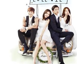Korean Drama, yun woo jin, and marriage not dating image