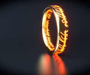 j.r.r. tolkien, ring, and ohmyevenstar image