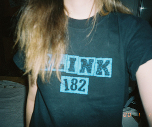 blink 182, girl, and band image