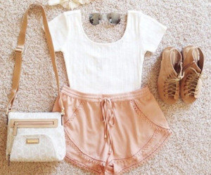 blouse, outfit, and yellow image