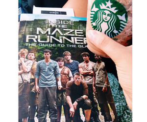 book, fandom, and starbucks image
