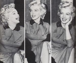 Marilyn Monroe, photography, and vintage image
