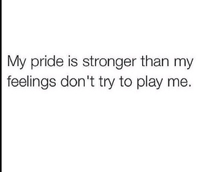 feelings, pride, and quote image