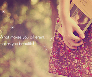 beautiful, quotes, and different image
