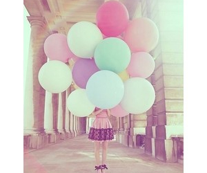 balloons and pastel image