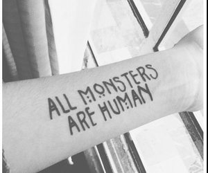 monster, american horror story, and tattoo image