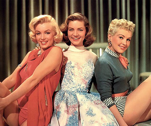 how to marry a millionaire, Betty Grable, and Lauren Bacall image