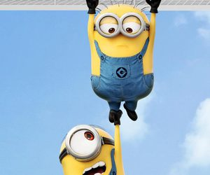 Minion Hanging Wallpaper Shared By Jack Preen