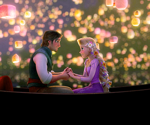love, disney, and tangled image