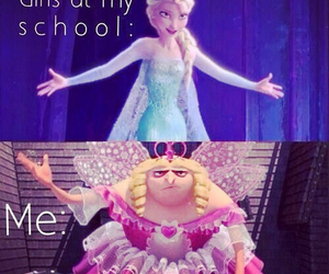 frozen, funny, and life image
