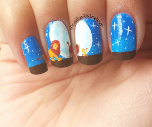 nail art, disney, and nails image