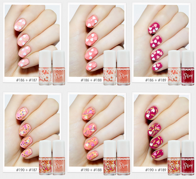 Etude House - Look At My Eyes 3 Color Palette + Play Nail | Beauty ...