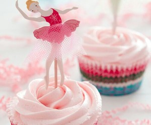 cupcake, ballet, and dance image