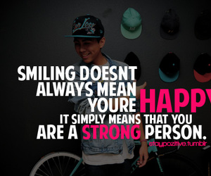 happy, strong, and smile image