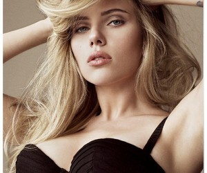 Scarlett Johansson, sexy, and blonde image
