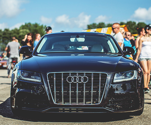 luxury, audi, and black image