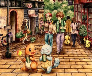 charmander, pokemon, and red image