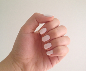 nails, simply, and white image