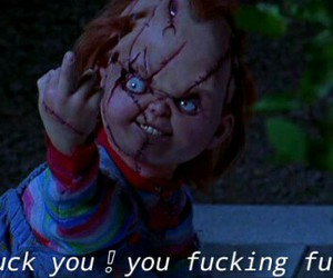Chucky, famous, and grunge image