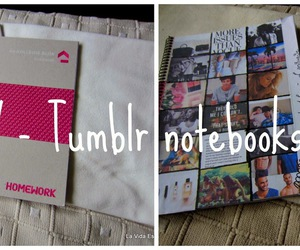 diy, notebooks, and tumblr image