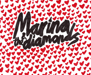 marina and the diamonds, hearts, and hipster image