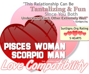 scorpio, compatibility, and love image