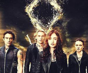 isabelle, clary, and shadowhunters image