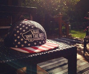 america, cap, and snapback image