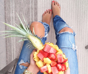 FRUiTS, ripped, and girl image