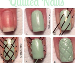 nails, diy, and tutorial image