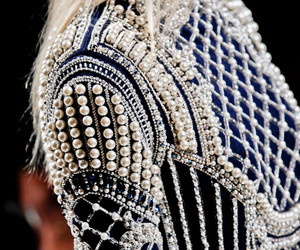fashion, pearls, and Balmain image