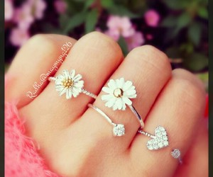 rings and flowers image