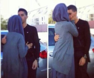couples, safe, and hijab image