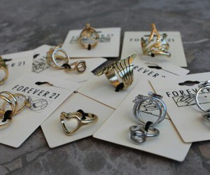 forever 21, fashion, and rings image