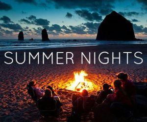 beautiful, nights, and ocean image