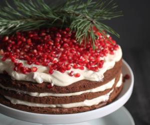 baking, cake, and cream image