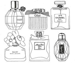 perfume, chanel, and Prada image