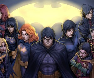 batman, jason, and batfamily image