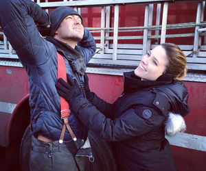 chicago fire, lindsay, and severide image