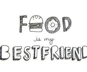 food, bestfriend, and friends image