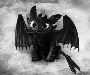 dragon, toothless, and cute image