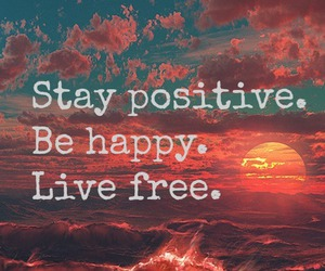 positive, happy, and free image