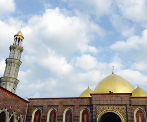 mosque, religion, and moslem image